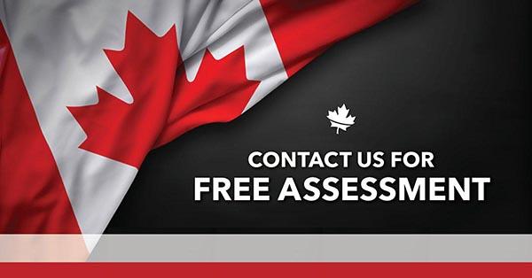 请填写免费移民评估。